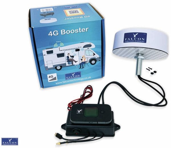 WLAN Access Point FALCON EVO 4G, Roof Mount Kit, LTE/GSM/3G/2G