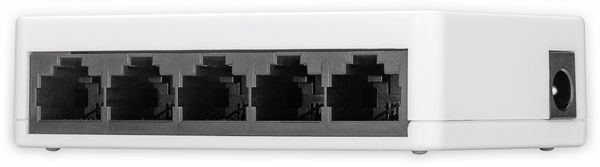 Netzwerk-Switch GOOBAY 71223, 5-Port, weiß - Produktbild 3