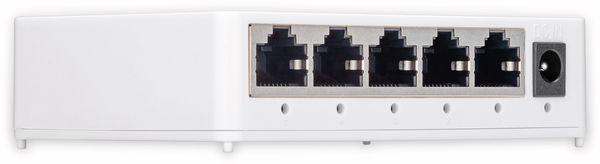 Gigabit Netzwerk-Switch GOOBAY 93372, 5-Port, weiß - Produktbild 3