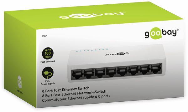 Netzwerk-Switch GOOBAY 71224, 8-Port, weiß - Produktbild 5