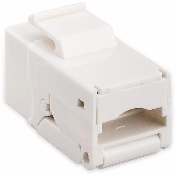 Einbau-Modul GOOBAY 95742, CAT.6, UTP, weiß - Produktbild 2