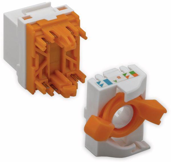 Einbau-Modul GOOBAY 93826, CAT.6, UTP, drehbarer Aufsatz - Produktbild 2