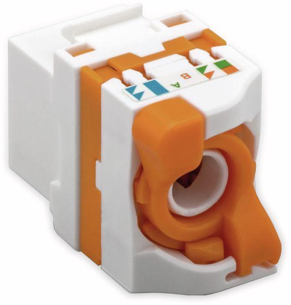 Einbau-Modul GOOBAY 93826, CAT.6, UTP, drehbarer Aufsatz - Produktbild 3