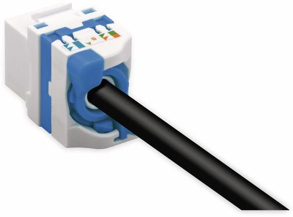 Einbau-Modul GOOBAY 93827, CAT.6a, UTP, Breite 16,7 mm, drehbarer Aufsatz - Produktbild 3