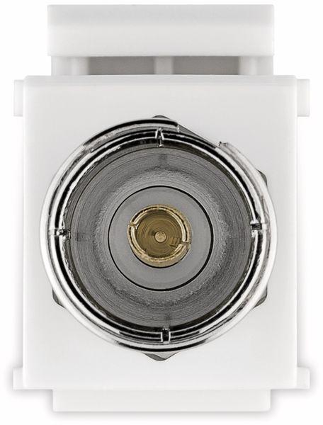 Einbau-Modul GOOBAY 79936, Kupplung Koax- auf F-Buchse - Produktbild 4