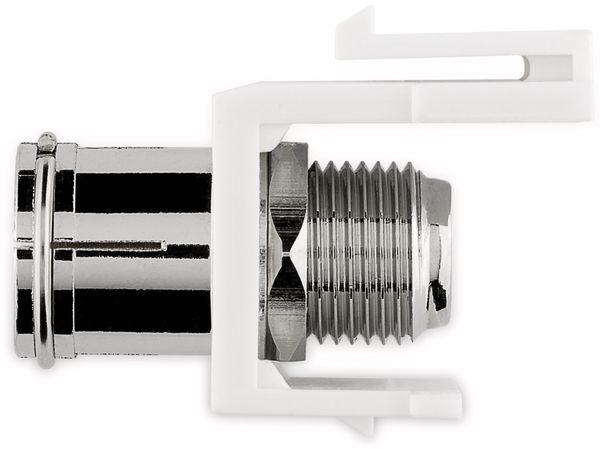 Einbau-Modul GOOBAY 79936, Kupplung Koax- auf F-Buchse - Produktbild 5