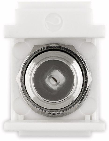 Einbau-Modul GOOBAY 79936, Kupplung Koax- auf F-Buchse - Produktbild 6
