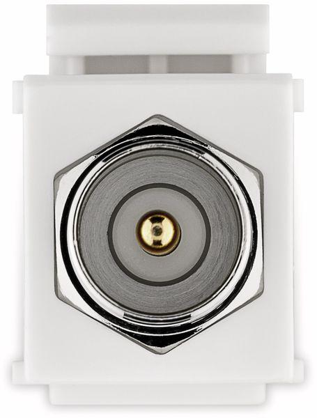 Einbau-Modul GOOBAY 79955, Kupplung, Koax-Stecker auf F-Buchse - Produktbild 4