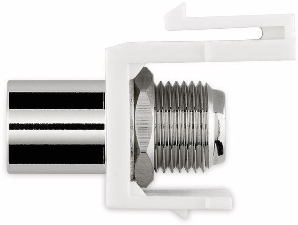 Einbau-Modul GOOBAY 79955, Kupplung, Koax-Stecker auf F-Buchse - Produktbild 5