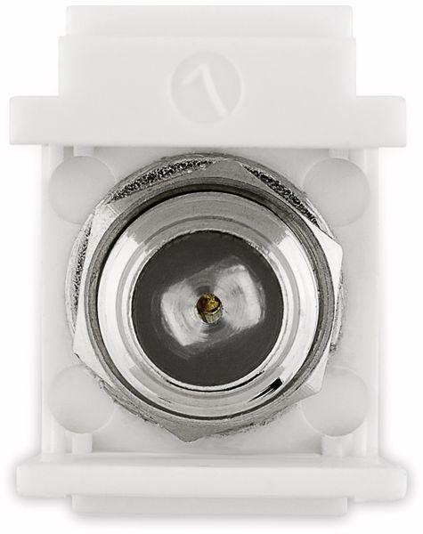 Einbau-Modul GOOBAY 79955, Kupplung, Koax-Stecker auf F-Buchse - Produktbild 6