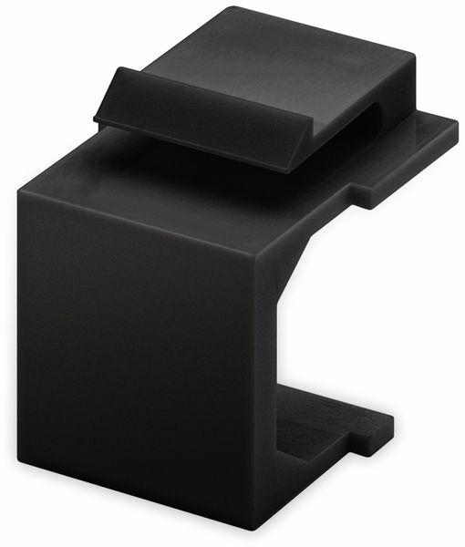 Abdeckung GOOBAY 79990, schwarz, 4 Stück