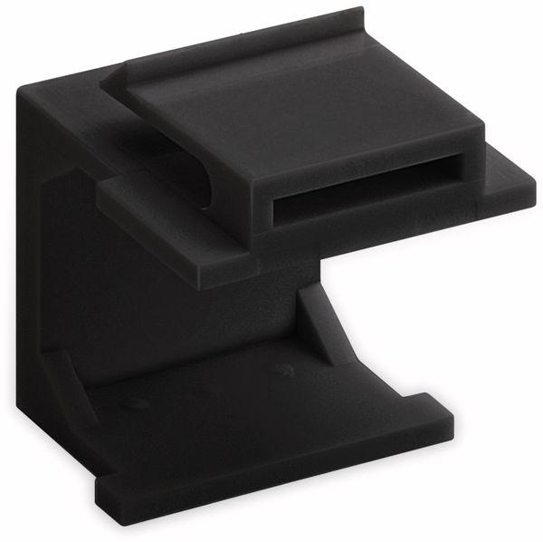 Abdeckung GOOBAY 79990, schwarz, 4 Stück - Produktbild 2