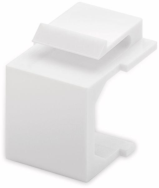 Abdeckung GOOBAY 79816, weiß, 4 Stück