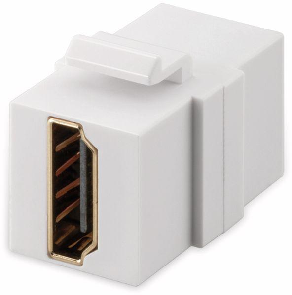 Einbau-Modul GOOBAY 90856, 2x HDMI-Buchse, Typ A