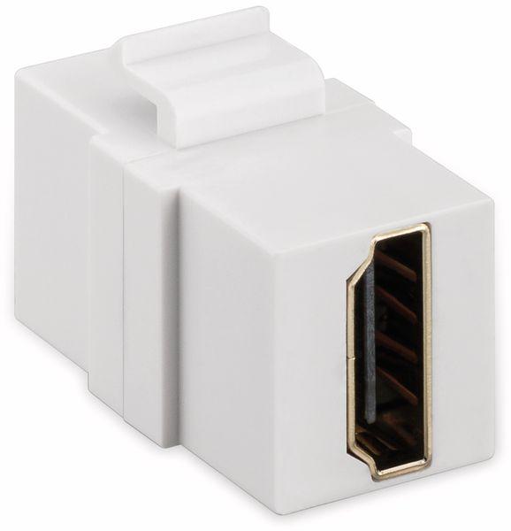Einbau-Modul GOOBAY 90856, 2x HDMI-Buchse, Typ A - Produktbild 2