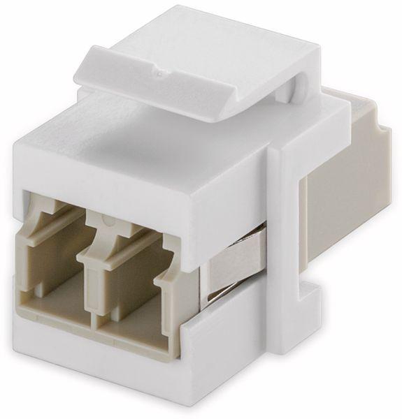 Einbau-Modul GOOBAY 80000, Lichtwellenleiter, 2x LC-Duplex Buchse