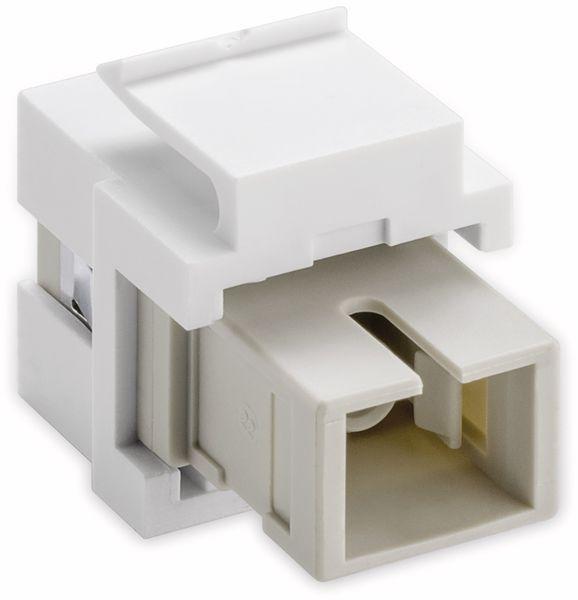 Einbau-Modul GOOBAY 80017, Lichtwellenleiter, 2x Simplex Buchse - Produktbild 2