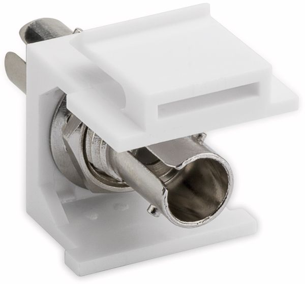 Einbau-Modul GOOBAY 80003, Lichtwellenleiter, 2x ST-Simplex Buchse - Produktbild 2