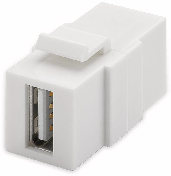 Einbau-Modul GOOBAY 79909, 2x USB 2.0-Buchse (Typ A)
