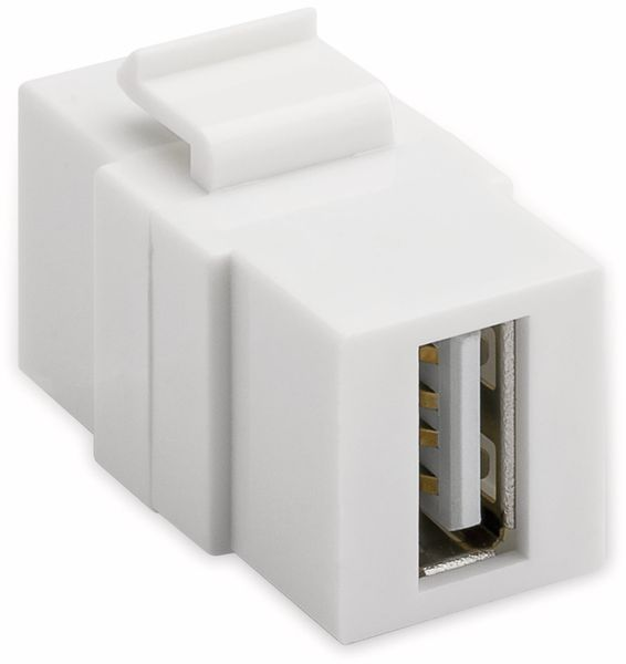 Einbau-Modul GOOBAY 79909, 2x USB 2.0-Buchse (Typ A) - Produktbild 2