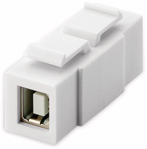 Einbau-Modul GOOBAY 79925, 2x USB 2.0-Buchse (Typ B)