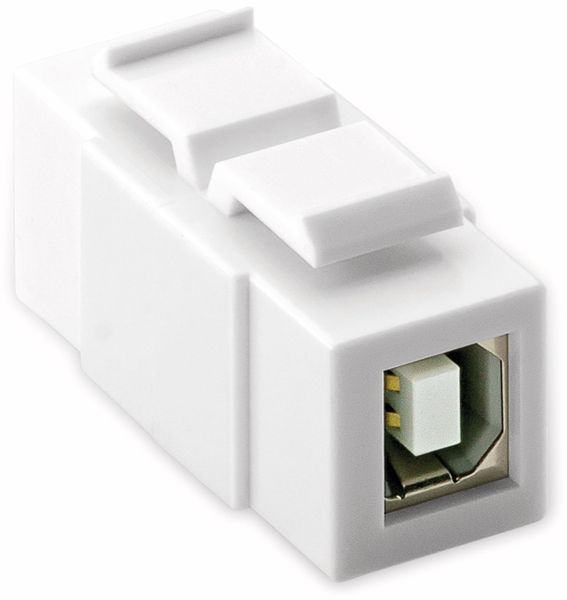 Einbau-Modul GOOBAY 79925, 2x USB 2.0-Buchse (Typ B) - Produktbild 2