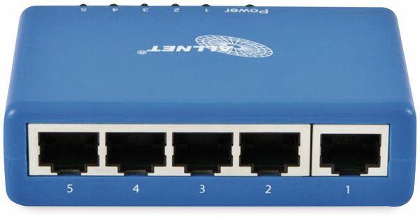 Switch ALLNET ALL8056A, unmanaged, 5-Port, Fast Ethernet - Produktbild 2