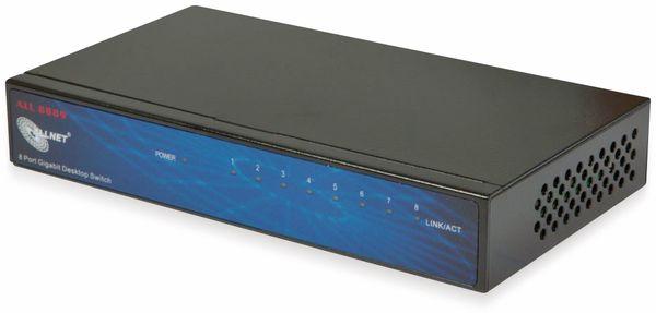 Switch ALLNET ALL8889v5, unmanaged, 8-port, Gigabit