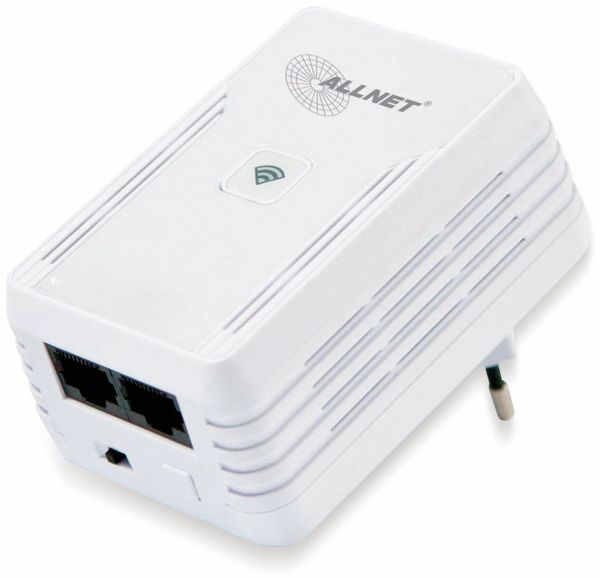 Powerline-Adapter ALLNET ALL1682511v2, 500+300 MBit/s