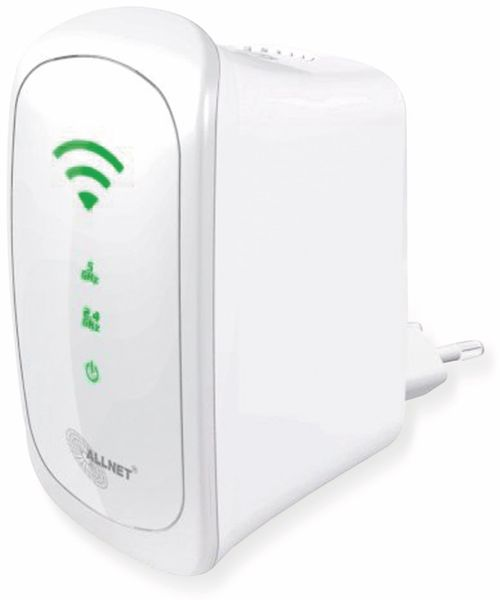 WLAN-Repeater ALLNET ALL0238RD, Dual-Band, 300 MBit/s