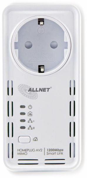 Powerline-Adapter ALLNET ALL1681205, 1200 MBit/s, SmartLink - Produktbild 2