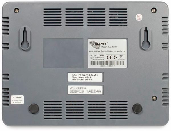 ISP Bridge Modem ALLNET ALL-BM300, Supervectoring - Produktbild 3