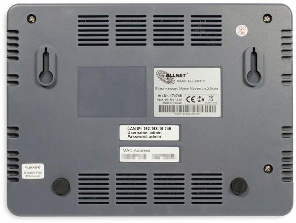 P2P Modem ALLNET ALL-BM310, VDSL - Produktbild 3