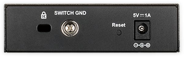 Switch D-LINK DGS-1100-05, 5-port, Gigabit - Produktbild 2