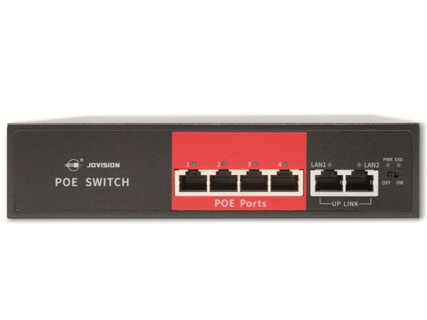 PoE Netzwerk-Switch JOVISION CloudSEE PS64, 4-port