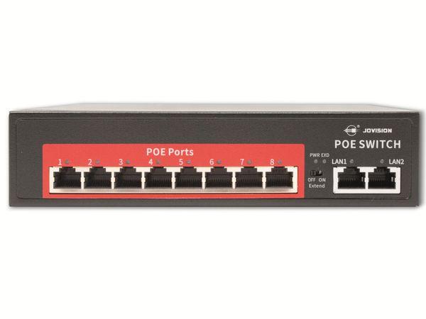 PoE Netzwerk-Switch JOVISION CloudSEE PS108, 8-port