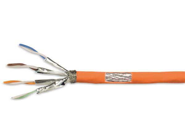CAT.7 Netzwerkkabel LOGILINK CPV0058, Installation, AWG23, orange, 25 m