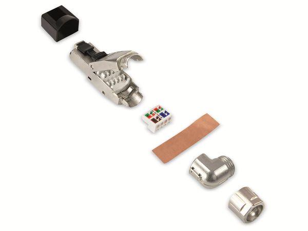 CAT.6a Stecker LOGILINK MP0058, feldkonfektionierbar, 5 Richtungen - Produktbild 3