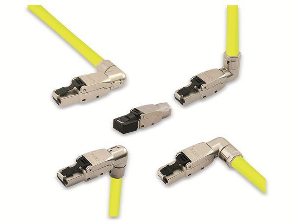 CAT.8.1 Stecker LOGILINK MP0082, feldkonfektionierbar, 5 Richtungen - Produktbild 2
