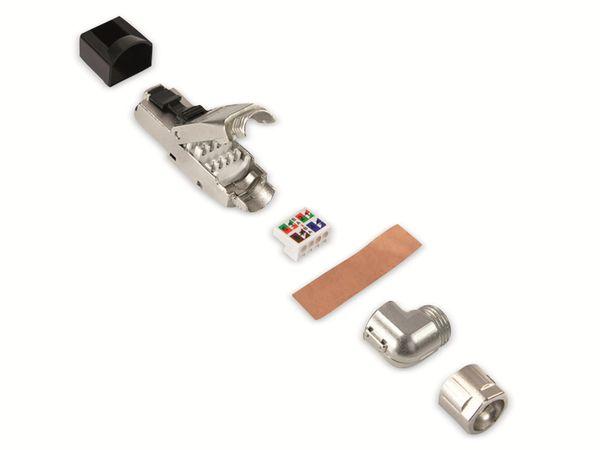 CAT.8.1 Stecker LOGILINK MP0082, feldkonfektionierbar, 5 Richtungen - Produktbild 3