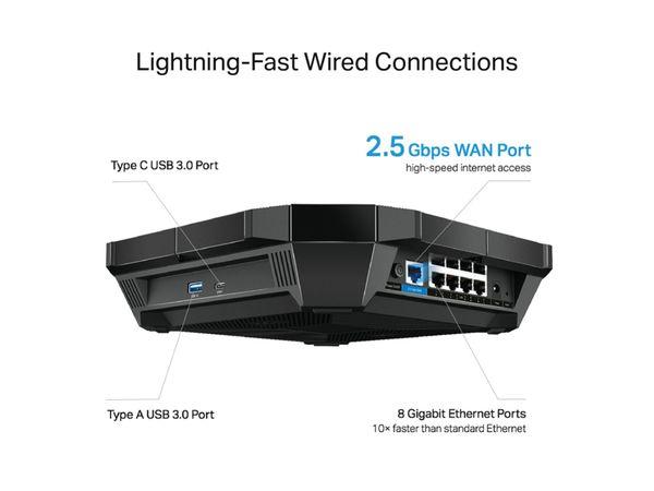 WLAN-Router TP-LINK Archer AX6000, Dual-Band, Wi-Fi 6 - Produktbild 3