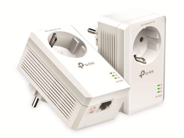 Powerline-Set TP-LINK TL-PA7017P KIT, AC Passtrough, AV1000