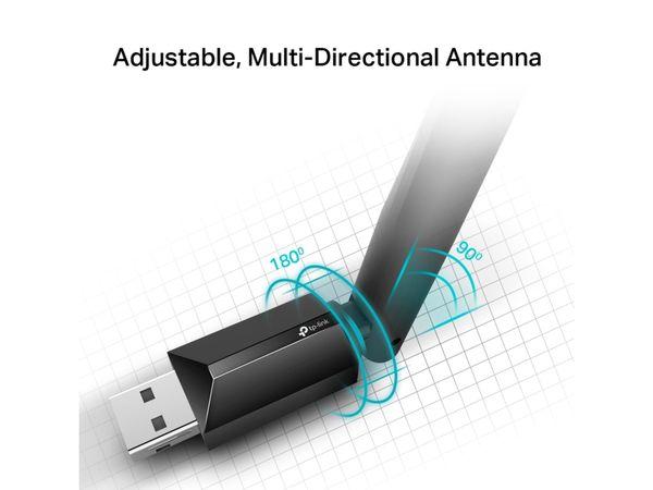 WLAN USB-Adapter TP-LINK Archer T2U Plus, AC600 - Produktbild 2