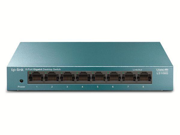 LiteWave Switch TP-LINK LS108G, Gigabit, unmanaged, 8-port, Metall