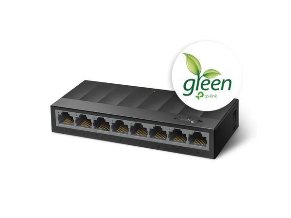 LiteWave Switch TP-LINK LS1008G, Gigabit, unmanaged, 8-port, Kunststoff - Produktbild 2