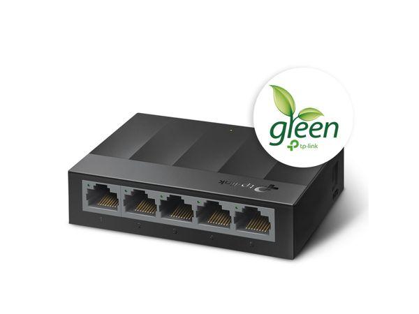 LiteWave Switch TP-LINK LS1005G, Gigabit, unmanaged, 5-port, Kunststoff - Produktbild 2