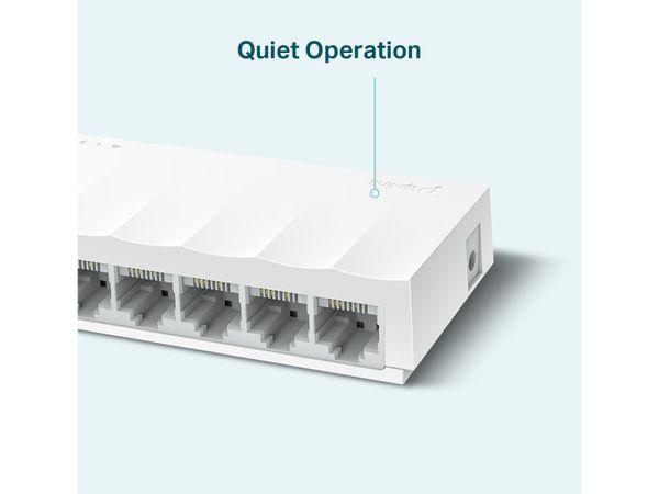 LiteWave Switch TP-LINK LS1008, FastEthernet, unmanaged, 8-port - Produktbild 3