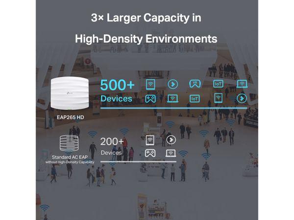 Access-Point TP-LINK OMADA EAP265 HD, AC1750, 2x Gigabit-Port - Produktbild 5