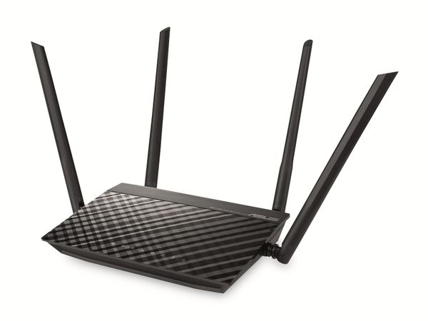 WLAN-Router ASUS RT-AC1200 V2, Dual-Band