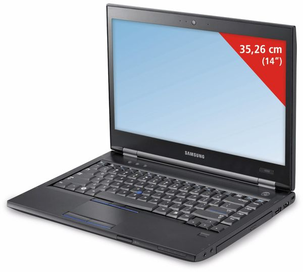 "Laptop SAMSUNG 600B4B, 14"", i5-2520M, UMTS, 320 GB, Win7Pro, Refurbished"